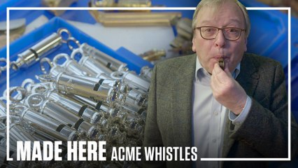 ACME Whistles   MADE HERE   Popular Mechanics