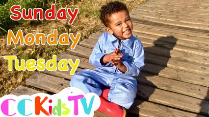 Days Of The Week Song by CC Kids TV | Original Song by CC Kids | Learn The Days Of The Week
