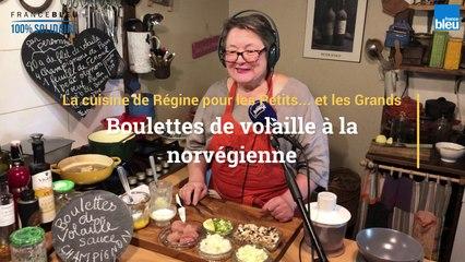Recette de boulettes de volaille à la norvégienne  de Régine