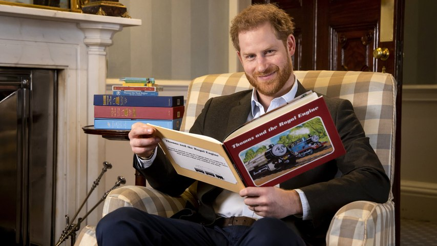 Prince Harry's Hosting a Special 75th Anniversary Episode of Thomas & Friends on Netflix