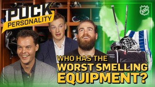 Puck Personality: Teammates' Smelly Gear