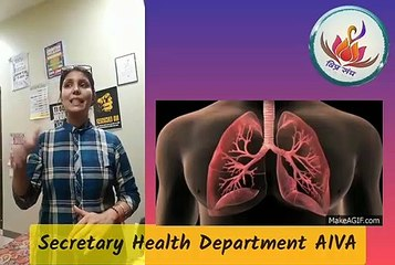 Dr. Sadhika : Lungs Boosting Techniques : AIVA