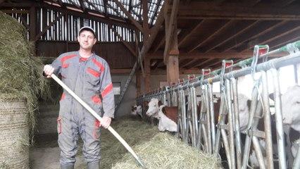 Mon village confiné : au Russey, rencontre avec Florian Ligier, agriculteur