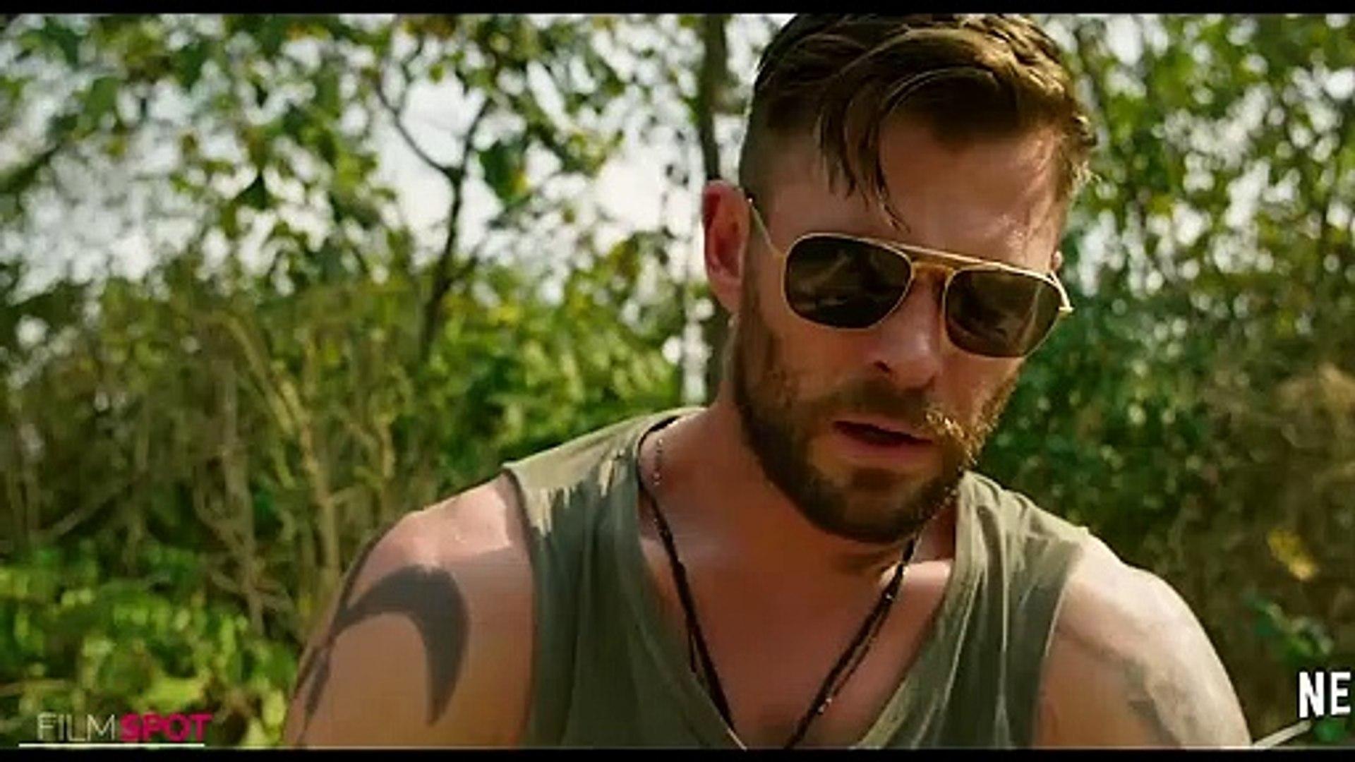 Chris Hemsworth Gun Fight Scene Extraction New 2020 Movie Clip 4k Video Dailymotion