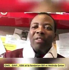 Le docteur congolais qui a découvert l'artemisia Gérôme Muyangi, fait des déclarations sur les vaccins enfanticides de GSK en Afrique noire