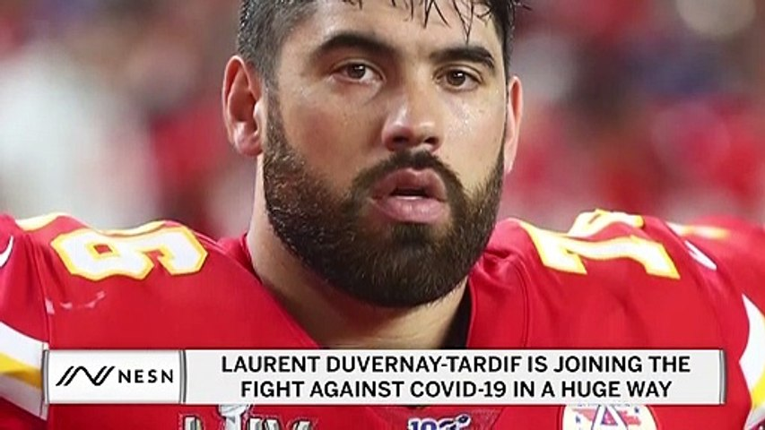 Chiefs' Laurent Duvernay-Tardif Is Helping Fight Vs. COVID-19 In Huge Way