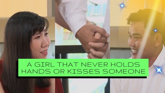 A GIRL THAT NEVER HOLDS HANDS OR KISSES, SOMEONE