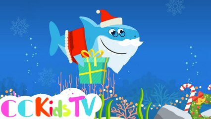 Christmas Sharks | Christmas Sharks Song | Santa Shark Do Do Do |  Grinch Shark | Song by CC Kids TV