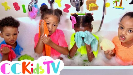 Wash My Face Do Do Do | Bath Song | Baby Shark Bath Time | Wash My Hair Do Do Do | CC Kids TV
