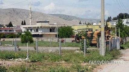 Nusaybin'de karantinaya alınan 3 Mahallenin giriş çıkışları kapatıldı