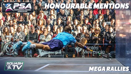 Squash - Rallies of the Decade - Honourable Mentions