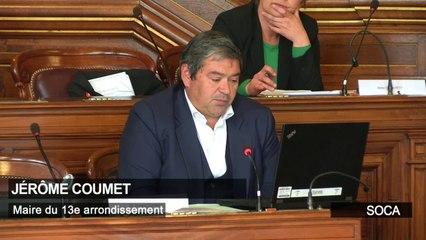 Intervention de Jérôme Coumet, Maire du 13e au Conseil de Paris du 28 avril 2020