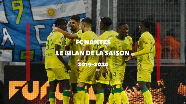 FC Nantes : Le bilan de la saison 2019 / 2020