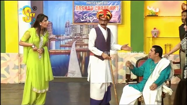 Zafri Khan With Iftikhar Thakur and Tariq Teddy Stage Drama Kaki Full Comedy Clip 2020
