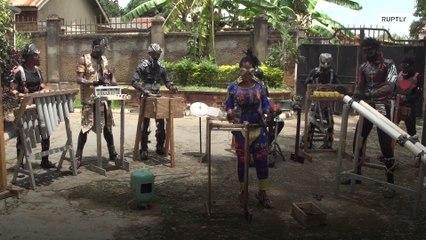 Группа DRC Fulu Muziki застряла на студии звукозаписи в Уганде