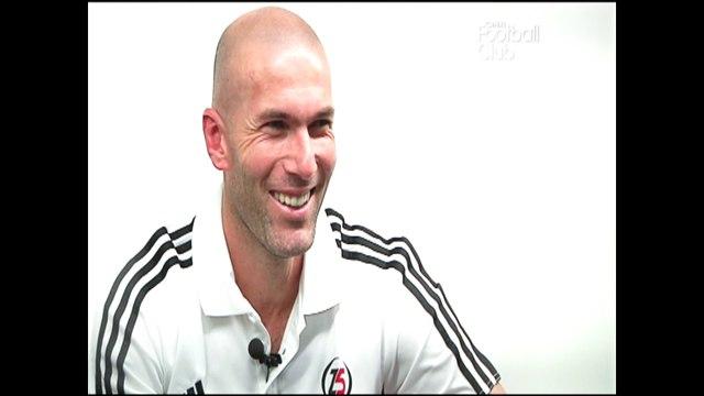 Zinédine Zidane : par amour du jeu