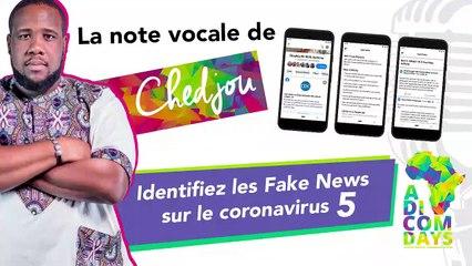La note vocale de Chedjou #5 : Facebook contre les #FakeNews sur le coronavirus