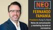 Fernando Famanía en NEO Marketing Talk
