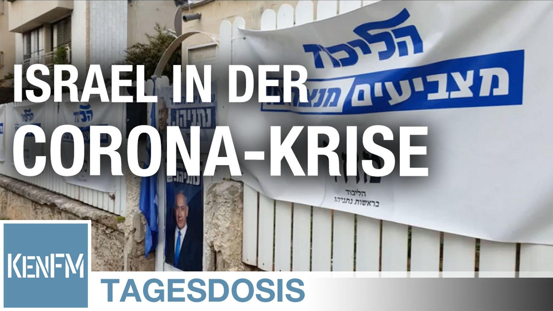 Tagesdosis 1.5.2020 - Israel in der Corona-Krise
