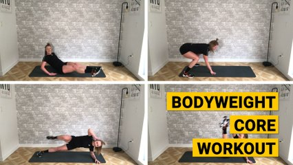 Bodyweight Core Workout