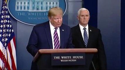 Coronavirus US - Donald Trump gives shortest daily briefing yet after touting coronavirus success