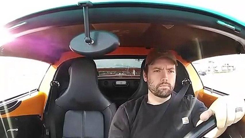 Il perd le toit de sa Lotus Elise REV 400 sur l'autoroute
