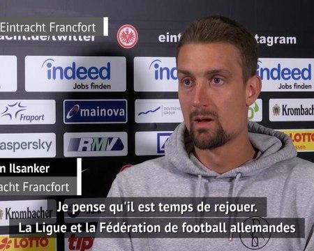"""Francfort - Ilsanker : """"Il est temps de rejouer"""""""