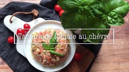 Recette tartare de tomate