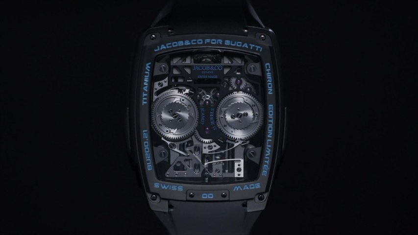 Jacob & Co. x Bugatti Chiron Tourbillon