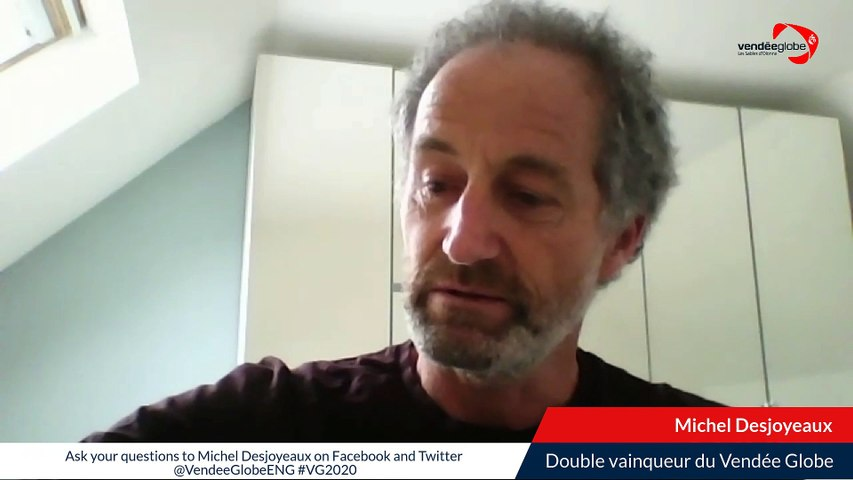 Replay // LOCKDOWN CALLING Live avec Michel Desjoyeaux