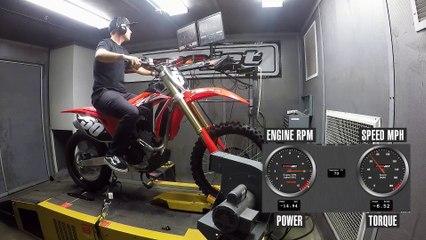 2020 Honda CRF250RX Dyno Test