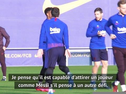 """Barça - """"Zanetti pourrait attirer Messi à l'Inter"""" explique un ancien assistant de Mourinho"""