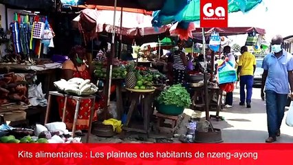 COVID-19 Gabon: Kits alimentaires et populations insatisfaites