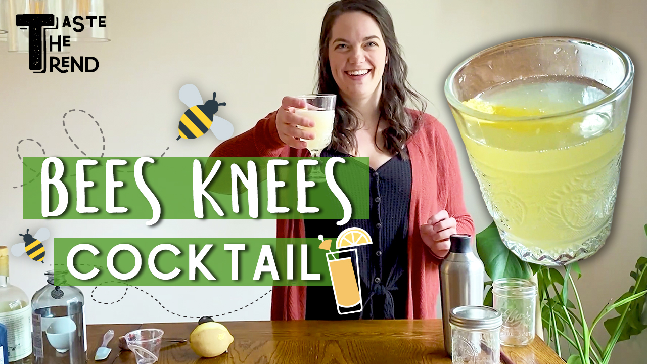 How to Make The Bees Knees Cocktail