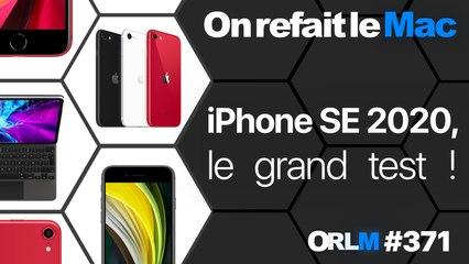 iPhone SE 2020, le grand test !⎜ORLM-371