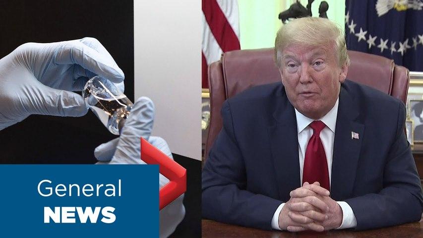 Coronavirus outbreak- Trump says FDA authorizes remdesivir as emergency COVID-19 treatment