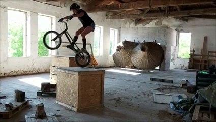 Clermont-l'Hérault : Manon Basseville à l'entraînement