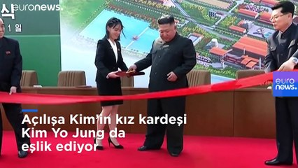 Öldü denilen Kuzey Kore lideri Kim Jong-Un fabrika açtı