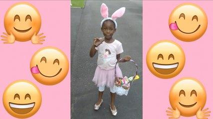 Zuzu & Her Friend Timmy Hunt For Easter Eggs! | Easter Egg Hunt At Home | Egg Hunt | Easter Time