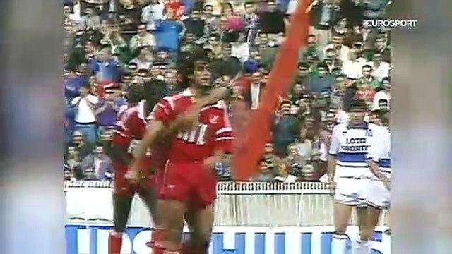 Triplé de JPP, Dib voit double en vain : Revivez la folle finale OM - Monaco de 1989