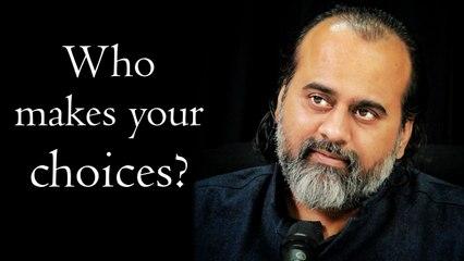 Who makes your choices? || Acharya Prashant, at Kedarnath (2019)