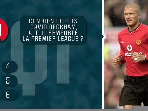 Quiz - Connaissez-vous bien David Beckham ?