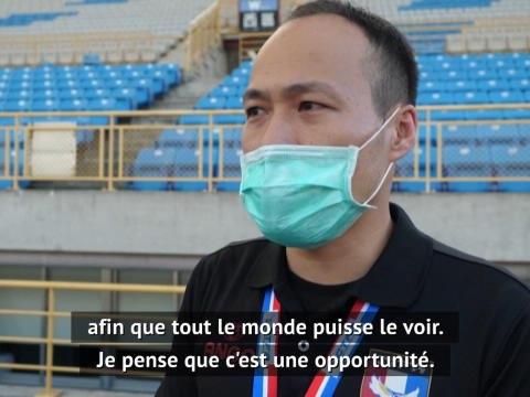 """Coronavirus - """"Une opportunité"""" pour le football à Taïwan"""