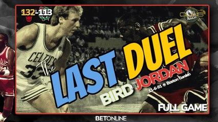Jordan vs Bird in their Last Real DUEL: Bulls Visit Boston Garden to Face Celtics' Big 3 - Nov  6, 1991 (Boston Garden)