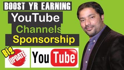 YouTube Update Sponsorships for Creators
