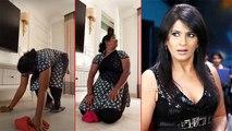 Archana Puran Singh's Maid Bhagyashri Invents New Style Of Yoga