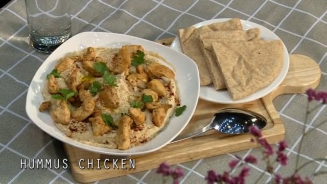 NORTH AFRICAN HUMMUS CRUSTED CHICKEN