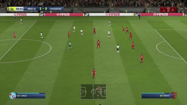Nîmes - Strasbourg : notre simulation FIFA 20 (L1 - 36e journée)