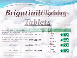 Buy Brigatinib Tablets Online