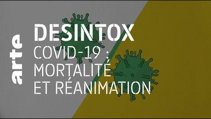Covid-19 : mortalité et réanimation | 05/05/2020 | Désintox | ARTE